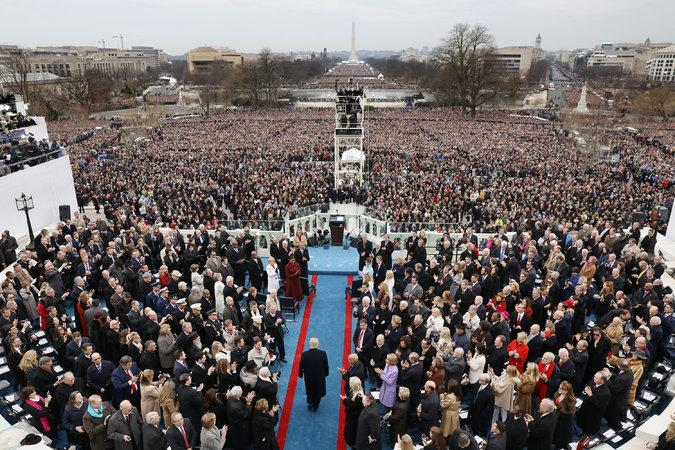 Trump inauguration sets tone for presidency