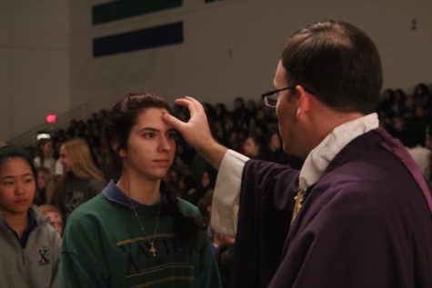 Xavier girls embrace their Lenten sacrifices