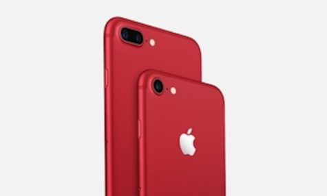The color red is not just the color red for the new iPhone