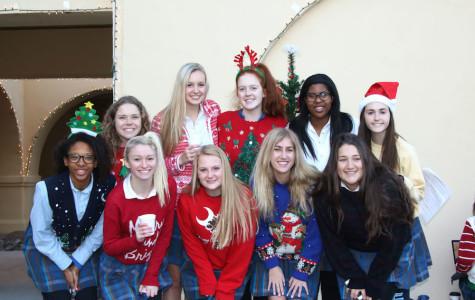 Hope, Love, Joy, and Peace: Xavier's 19th Annual Tree Lighting Ceremony