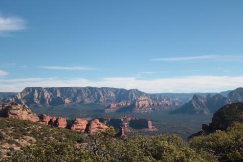 Views from Sedona's Bear Mountain.