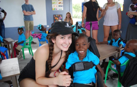 A student's impact on Haitian lives