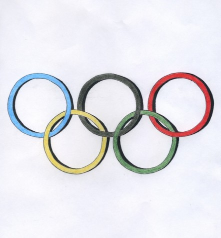 The notorious Olympic Rings represent the sporting event that unifies the world.