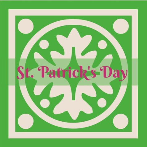 The feast day is commonly associated with the color green