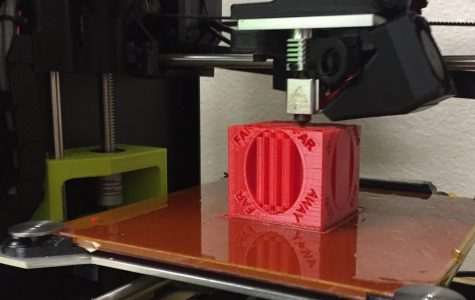 3-D printing is the bomb, according to Mr. Ward.