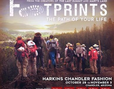 """""""Footprints, the Path of Your Life"""" leads men on a spiritual journey"""