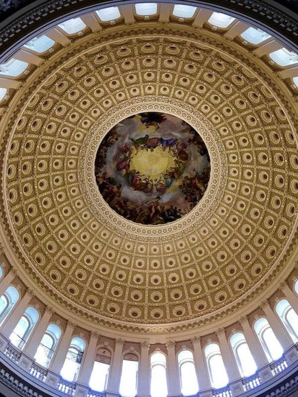 One of the amazing historical landmarks that Savana experienced during the Close-Up organization's trip to Washington, D.C. Savana Olivas '18