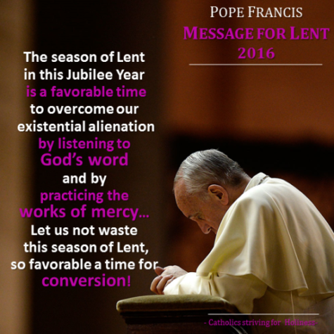 The Pope's message