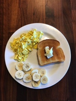 A healthy breakfast can often lead to a stress-free day.