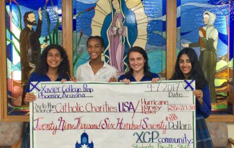 Xavier community raises $29,670 for Hurricane Harvey relief