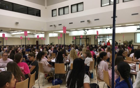 Freshmen learn the importance of friendship at Frosh Prayer Day