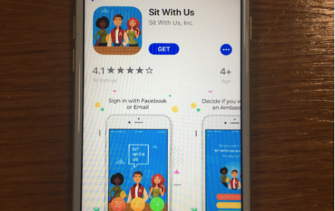 """""""Sit With Us"""" app may help promote LBF at Xavier"""