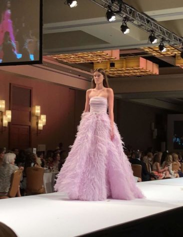 Catherine Kempton shines at the Brophy Fashion Show