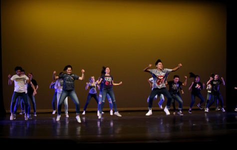 Intermediate fall dance performance takes the stage