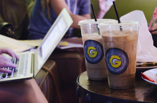 An+iced+coffee+at+Grand+Central+Coffee+in+downtown+Phoenix.+