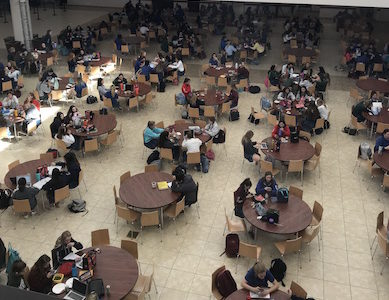 Xavier students take action to improve inclusiveness in Founders Hall