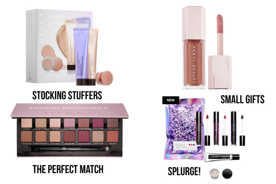 A+few+of+the+mentioned+beauty+products+that+are+great+for+holiday+gifts.+