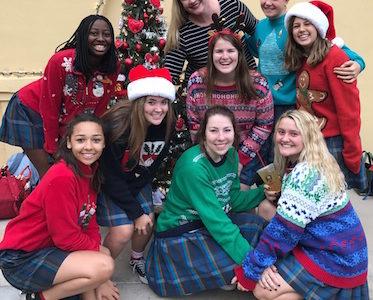 Annual holiday festivities bring joy to the Xavier community