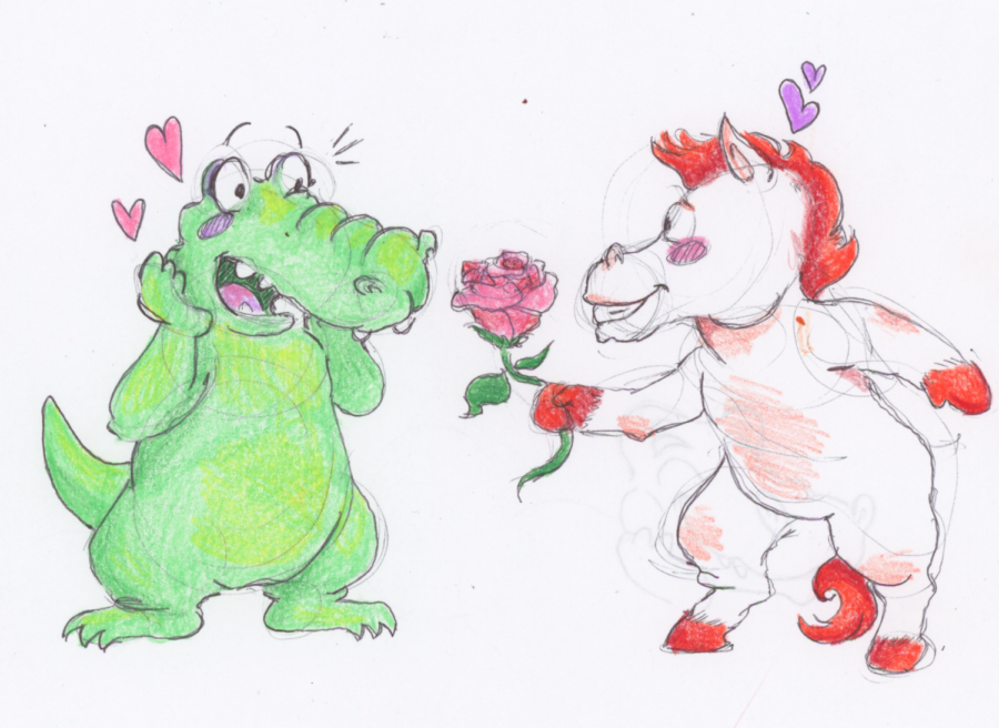 Valentine's Day illustration series