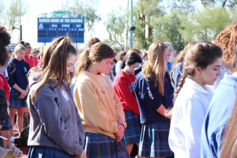 A theme of community radiates through Junior Prayer Day 2017