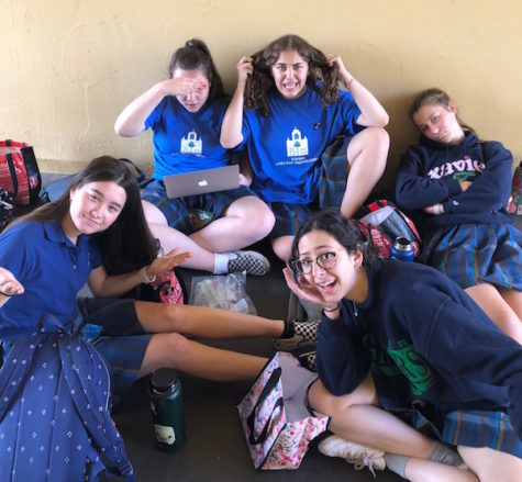 Juniors Jackie Ganem, Natalie Vitols, Mackenzie Bouise, Emily Good and Bebe Katsenes show the stress of junior year but warn sophomores with a few tips.
