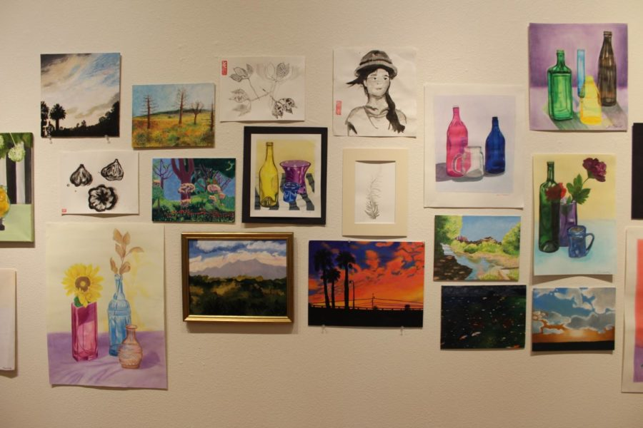 The+Art+Feast+included+a+multitude+of+studio+art%2C+including+these+paintings