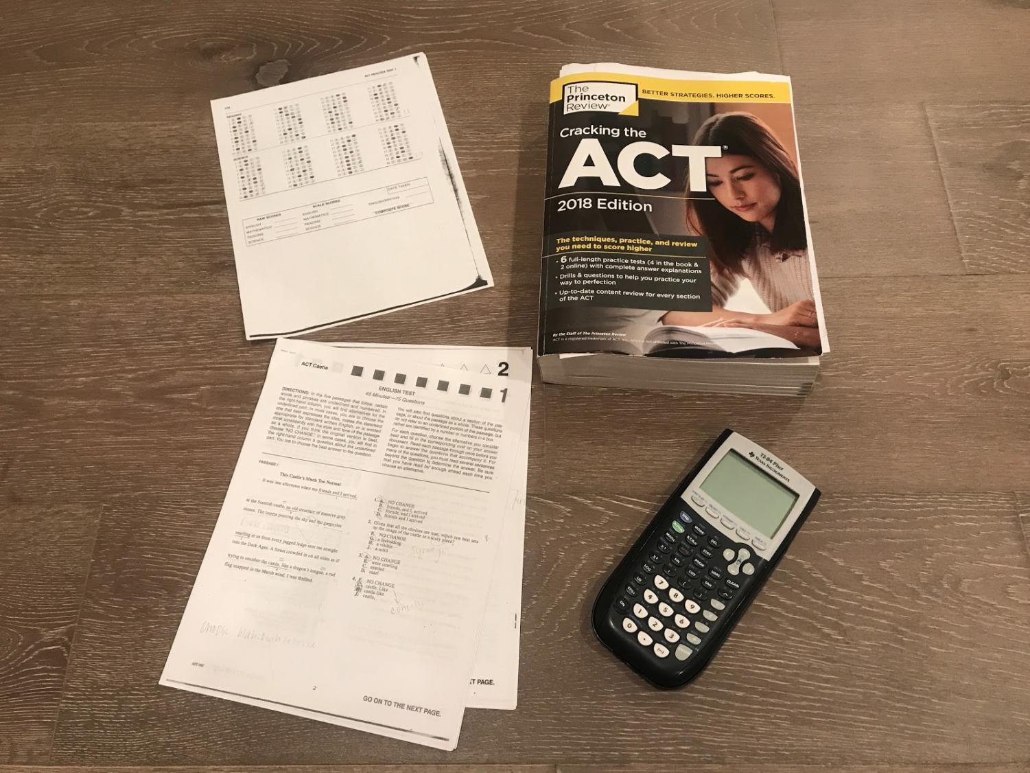 Study tools for the ACT and SAT