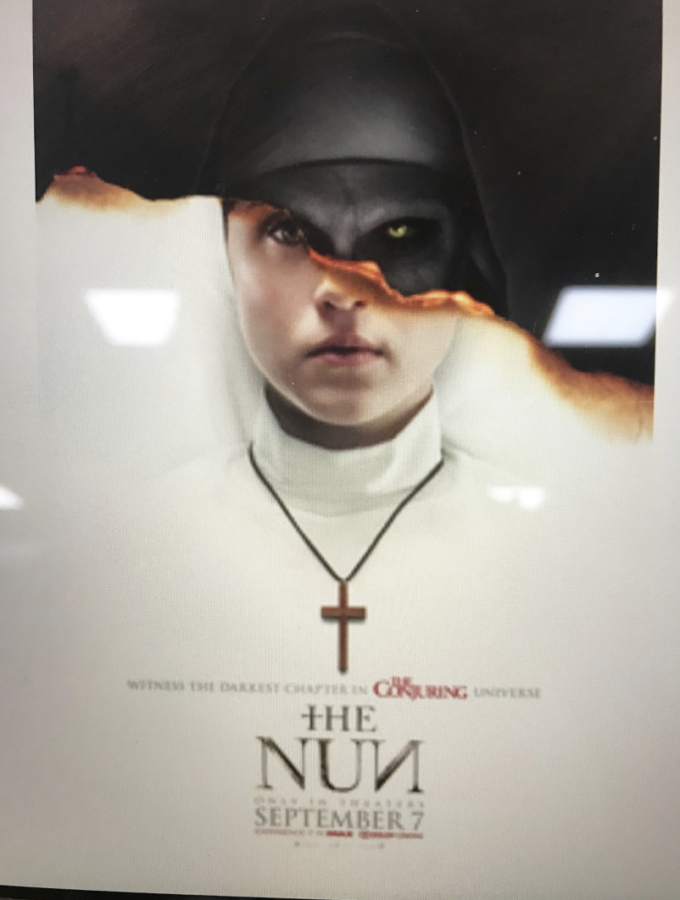The+theatrical+release+poster+for+%22The+Nun%22.+