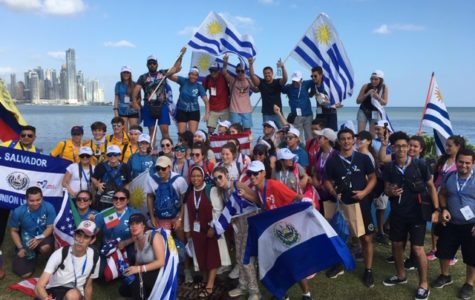 Mr. and Mrs. Wyman lead students to Panama for World Youth Day 2019