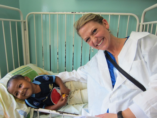 Michelle Lowenberg, Executive Director of Operation Rainbow, spent most of her time on mission trips in Ecuador. Photo Courtesy of Michelle Lowenburg