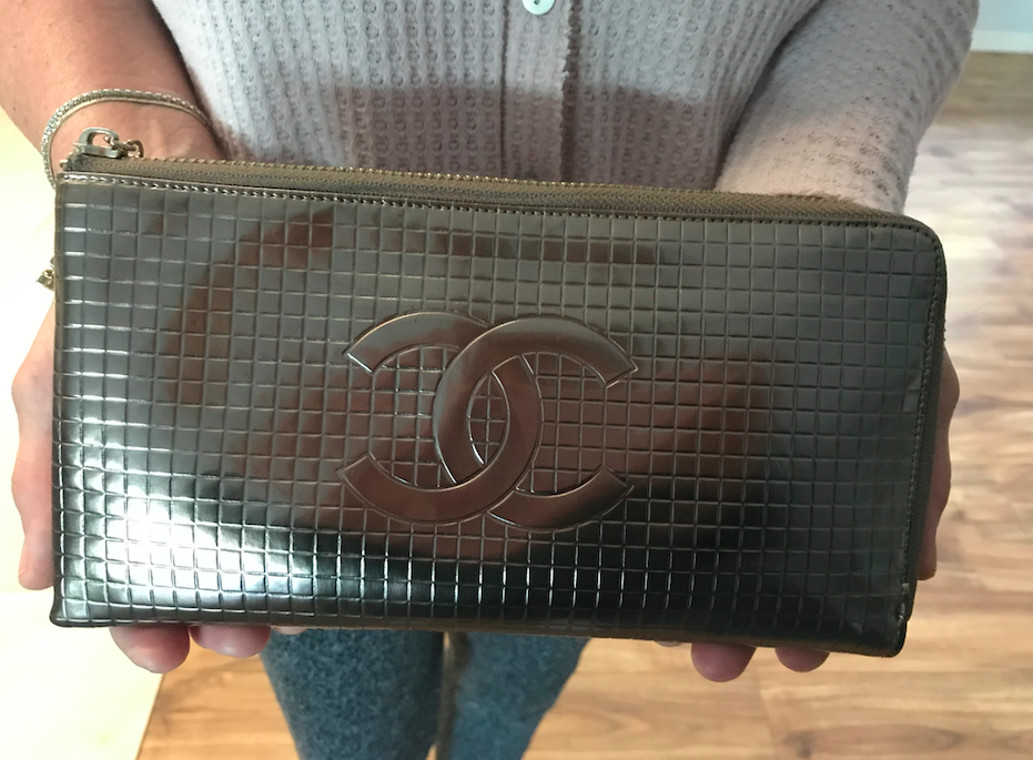 A Chanel purse, the legacy of Karl Lagerfeld.