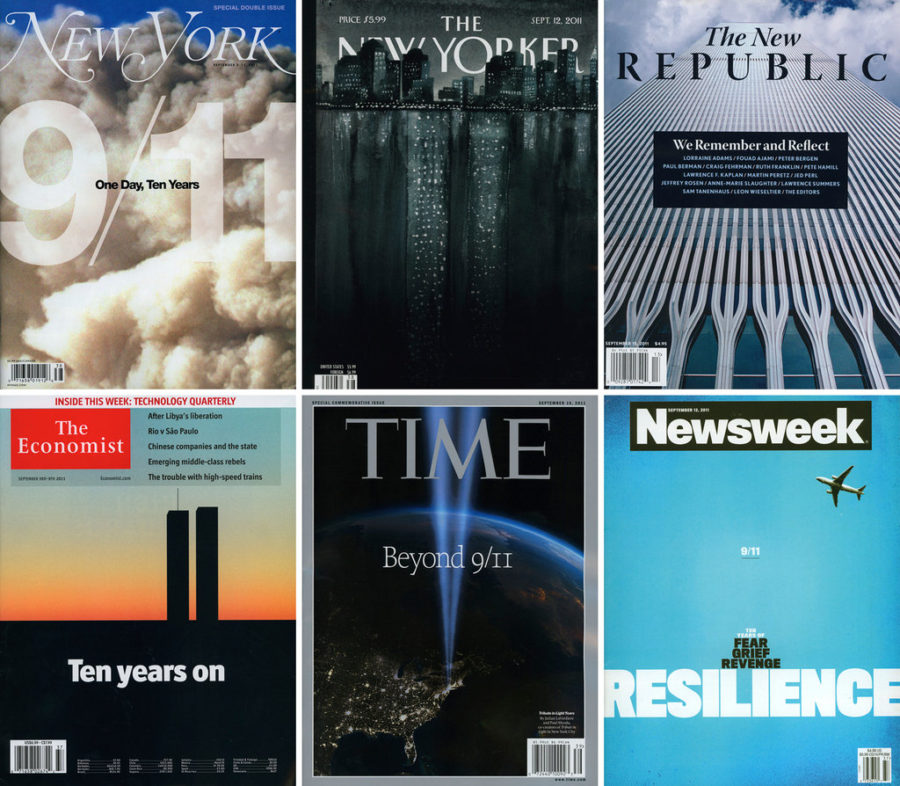 several+9%2F11+magazine+covers+