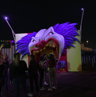 Opening to the Clown Corn Fields at the 2019 Fear Farm located in Phoenix, Arizona. Photo credit: Zoelyn Mulloy '21