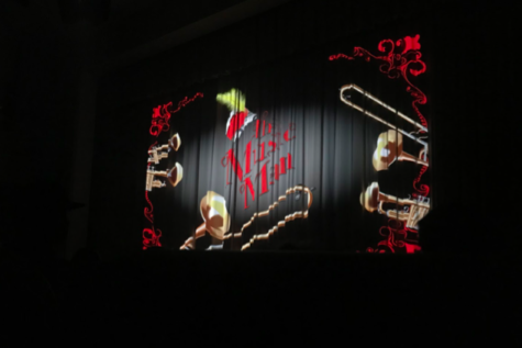 A picture of the curtains before the show began at Xavier College Prep located in Phoenix, Arizona.  Photo Credit: Sattu Samura