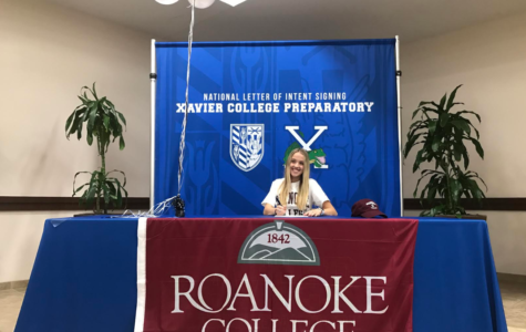 Megan Onofrei signed to play soccer at Roanoke College in Salem, Virginia. Photo by Caroline Hink '20.