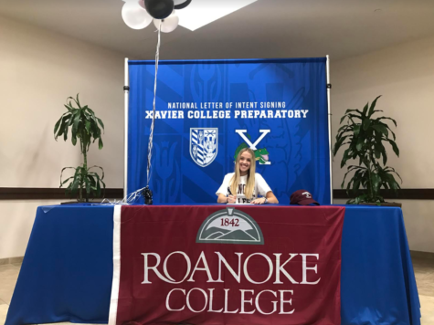Megan Onofrei signed to play soccer at Roanoke College in Salem, Virginia. Photo by Caroline Hink