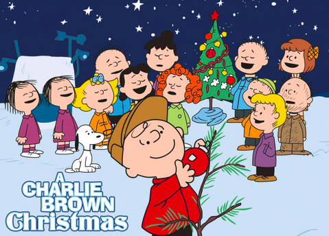 The Charlie Brown gang on the
