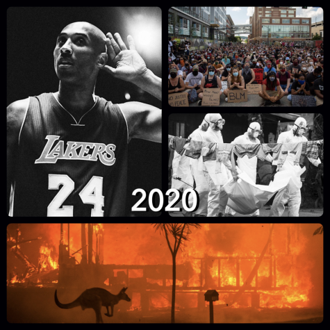 Here's a look at some of the pinnacle points of 2020 including the Covid-19 pandemic, basketball star Kobe Bryant