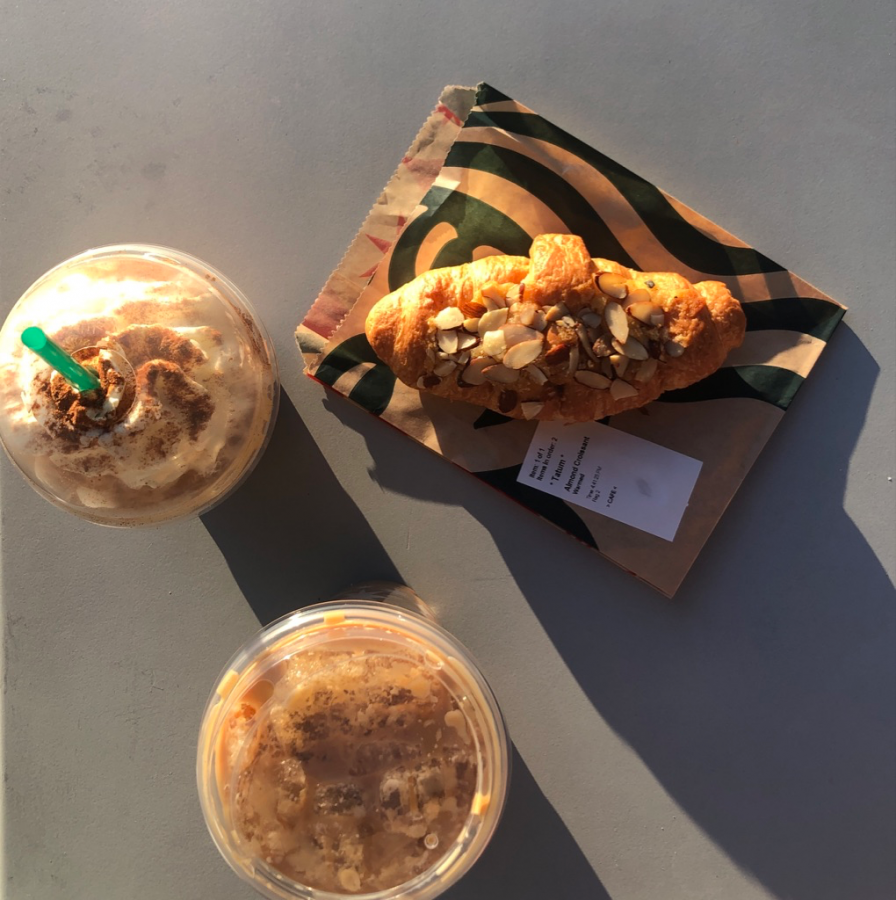 The Iced Pumpkin Spice Latte and Iced Chai Latte are two of the items offered on the Starbucks fall menu. These autumn drinks were some of my favorite items I tried.
