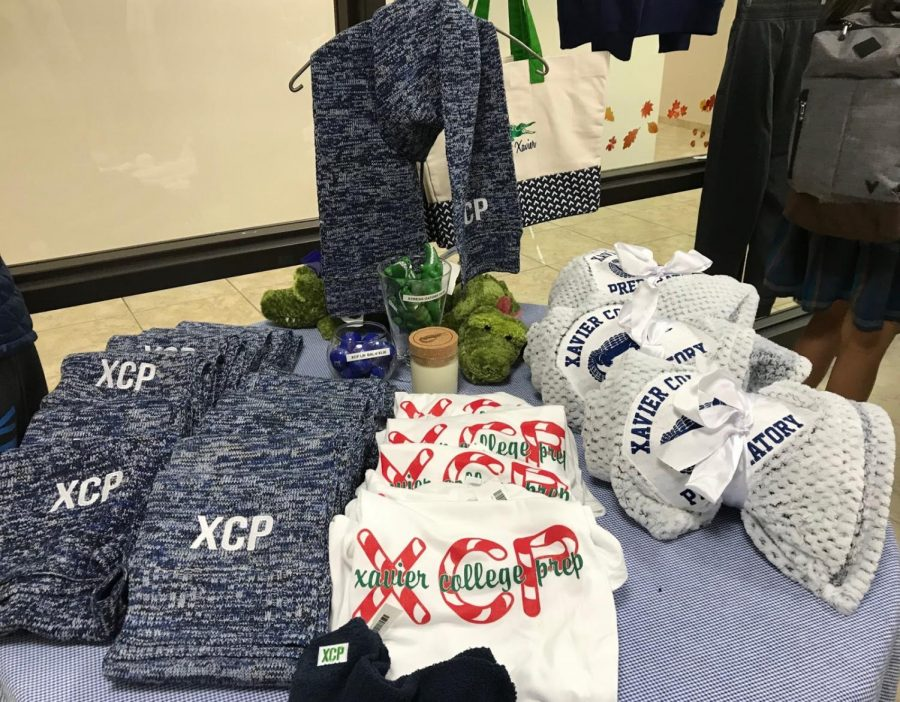 Candy cane shirts and knit scarves are only a few items in Gator Gear