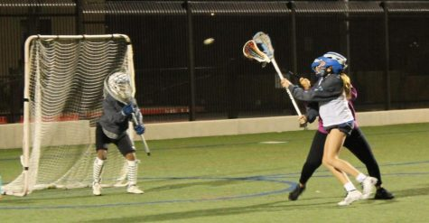Xavier's dedicated varsity lacrosse team practices into the night to take it to the next level for an upcoming game.