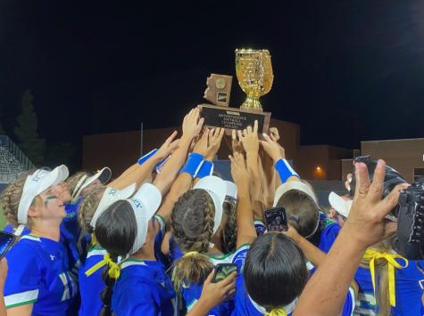 Xavier varsity softball wins state championship