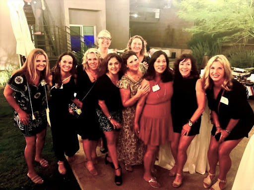 The class of 1991 gets together and sees each other again after almost ten years since graduation. Current Xavier world history teacher, Stephanie Brugger, met her classmates again and has planned to see them again next month.